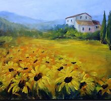 Sunflowers by Ivana Pinaffo