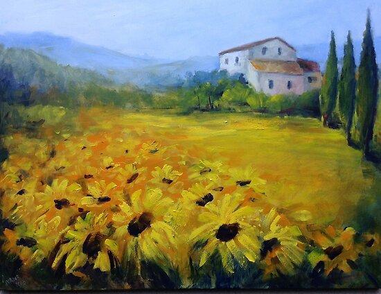 Sunflowers by Ivana Pinaffo