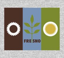 Fresno, California Flag by cadellin