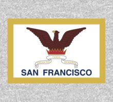 San Francisco California Flag by cadellin