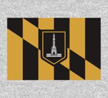 Baltimore, Maryland Flag by cadellin