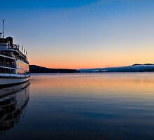 Lake George Boat by martinilogic