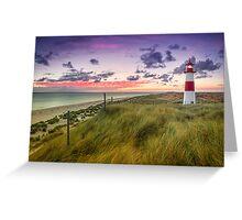 Lighthouse List East (Ellenbogen/Sylt) Greeting Card