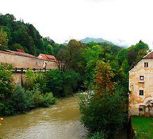 Skofja Loka River Front 2 by jojobob