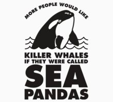 More People Would Like Killer Whales If They Were Called Sea Pandas by Look Human