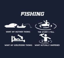 What really Happens White by Fl  Fishing