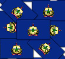 Smartphone Case - State Flag of Vermont XIV by Mark Podger