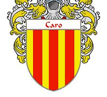 Caro Coat of Arms/Family Crest by William Martin