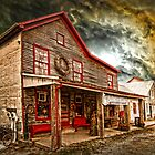 OLD WASHINGTON TOWN  by Randy & Kay Branham
