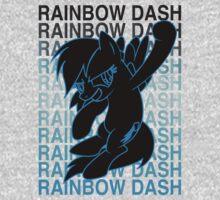 Pony Rainbow Dash by jeice27