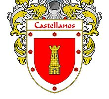 Castellanos Coat of Arms/Family Crest by William Martin