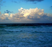 Gulf of Mexico in Green by IveyRose