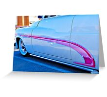 Streetrod Reflections Greeting Card