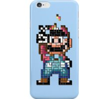 Mario victory tetris iPhone Case/Skin