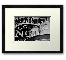 Good Old Jack Framed Print