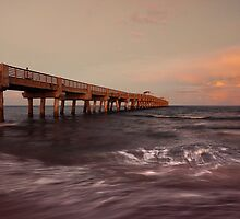 Lake Worth Pier by DDMITR