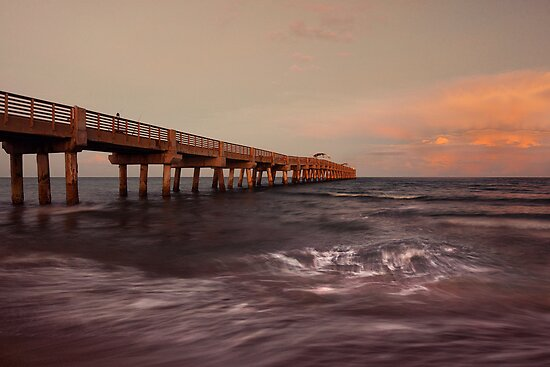 Lake worth pier by ddmitr redbubble for Lake worth pier fishing