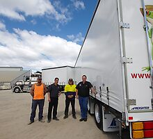 Freigher trailers with Nelson & TTS reps by LIFEPhotography