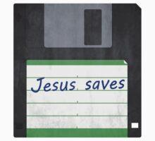 """""""Jesus Saves"""" (Vintage) by Surpryse"""