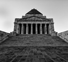 Shrine of Remembrance by raymies