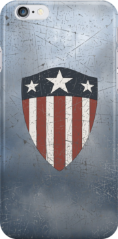 Vintage Look USA WW2 Captain America Style Shield by VintageSpirit