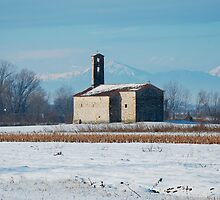 Rural Friulian Church by jojobob