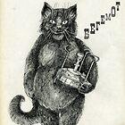 Behemoth the Cat by Redilion