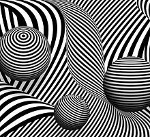 Abstract - Poke out my eyes by Mike  Savad