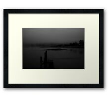 Milbridge in the morning Framed Print
