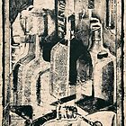 'Cointreau' Still-Life on Shoebox Paper by Kerryn Madsen-Pietsch