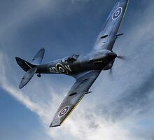 Supermarine Spitfire by James Biggadike