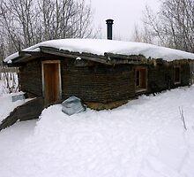Old Sod House by rhamm