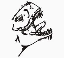 Godzilla by dacrow