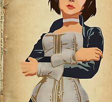 Bioshock Infinite - Elizabeth  by Kodi  Sershon