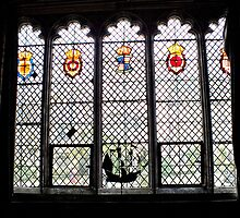 Medieval Window, Ightham Mote by Ludwig Wagner