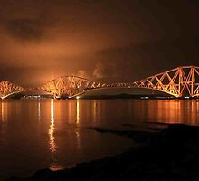 Forth Rail Bridge by Pat Millar