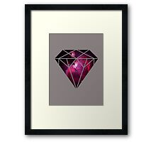 Galaxy Diamond Framed Print