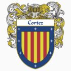 Cortez Coat of Arms/Family Crest by William Martin