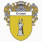 Crespo Coat of Arms/Family Crest by William Martin