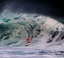 Pipeline Surfer 14 by Alex Preiss