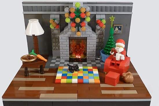 Lego Christmas Card  by minifignick