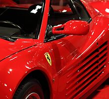 1986 Ferrari Testarossa - 5D20028 by Wingsdomain Art and Photography