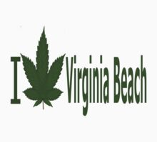 0120 I Love Virginia Beach by Ganjastan