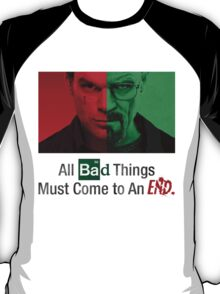 Breaking Bad and Dexter Finale T-Shirt