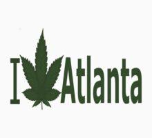 0121 I Love Atlanta T-Shirt