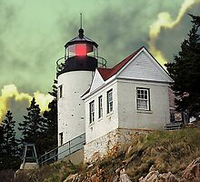 Bass Harbor Head Lighthouse by Jim Stiles