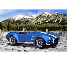 Shelby AC Cobra Photographic Print