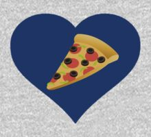 I Love Pizza by Alsvisions