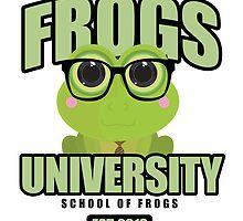 Frogs University by Adamzworld
