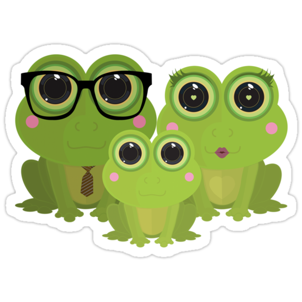 Frog Family by Adamzworld